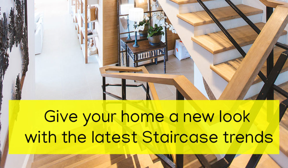 Give Your Home a New Look with the Latest Staircase Trends