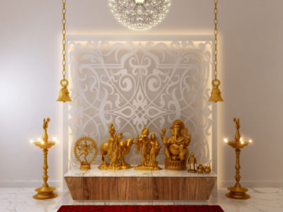 10 Puja Room Ideas for Your Apartment Spaces