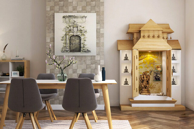 10 Puja Room Ideas For Your Apartment Spaces Allegra Designs